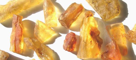 La pierre ambre